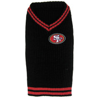 San Francisco 49ers NFL Football Pet SWEATER