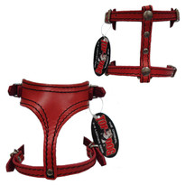 Top Dog Leather Dog Harness