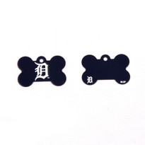 Detroit Tigers Pet ID Tag - With Engraving