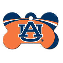 Auburn Tigers Engraved Pet ID Tag
