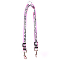 Chantilly Pink Coupler Dog Leash