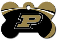 Purdue Boilermakers Engraved Pet ID Tag