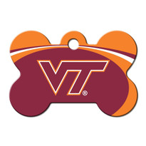 Virginia Tech Hokies Engraved Pet ID Tag