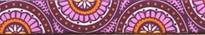 "Radiance Purple Roman Style ""H"" Dog Harness"