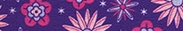 Purple Flowers Ding Dog Bells Potty Training System