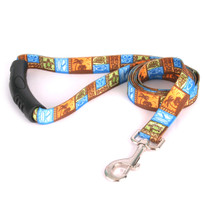 Tiki Print EZ-Grip Dog Leash