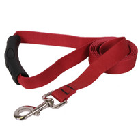 Solid Red EZ-Grip Dog Leash