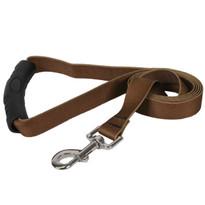 Solid Brown EZ-Grip Dog Leash
