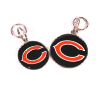 Chicago Bears NFL Dog Tags With Custom Engraving