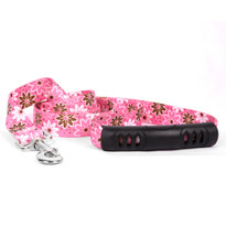 Daisy Chain Pink EZ-Grip Dog Leash
