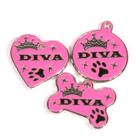 Diva Dog Engraved Pet ID Tag - Lifetime Guarantee