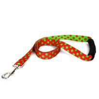 Christmas Polka Dot EZ-Grip Dog Leash
