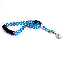 Blueberry Polka Dot EZ-Grip Dog Leash