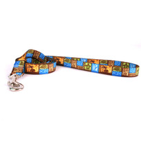 Tiki Print Dog Leash