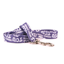 TCU Horned Frogs Dog Leash