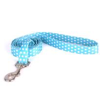 New Blue Polka Dot Dog Leash