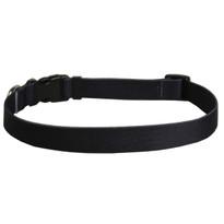 Solid Black Dog Collar