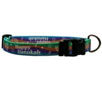 Happy Hanukah Dog Collar