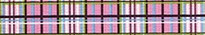 Tartan Pink Waist Walker