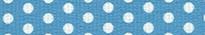 New Blue Polka Dot Waist Walker
