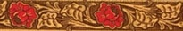 Leather Rose Red Waist Walker
