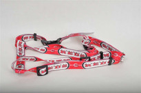 Cincinnati Reds Dog Harness