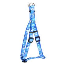 Tiki Blue Step-In Dog Harness