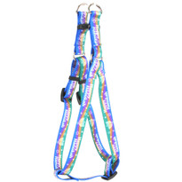 Happy Hanukah Step-In Dog Harness