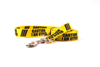 Caution I Am Hyper Dog Leash