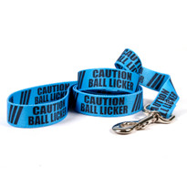 Caution Ball Licker Dog Leash