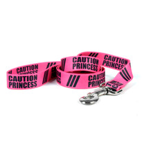 Caution Princess Dog Leash