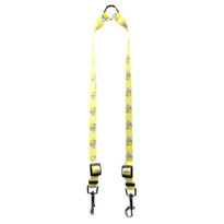 Yellow Elephants Coupler Dog Leash