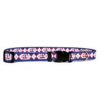 New York Giants Argyle Dog Collar