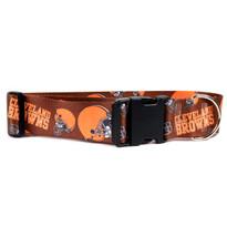 Cleveland Browns 2 Inch Wide Dog Collar