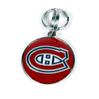 Montreal Canadiens NHL Dog Tags With Custom Engraving