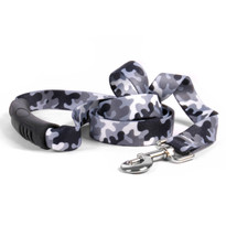 Black and White Camo EZ-Grip Dog Leash