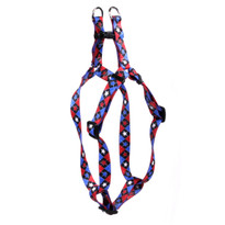 American Argyle Step-In Dog Harness