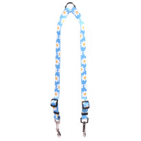 Blue Daisy Coupler Dog Leash