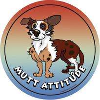 Mutt Attitude Magnet