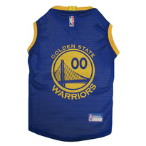 Golden State Warriors Mesh Pet Jersey