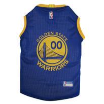 Golden State Warriors Mesh Pet Jersey