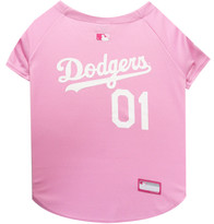 Los Angeles Dodgers PINK MLB Pet Jersey