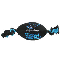 Carolina Panthers NFL Squeaker Football Toy