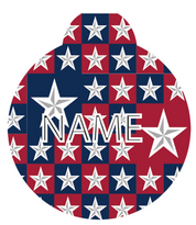Colonial Stars HD Pet ID Tag