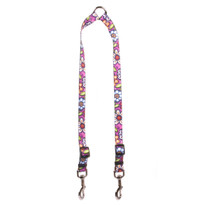 Pink Garden Coupler Dog Leash