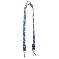 Spirals Blue Coupler Dog Leash