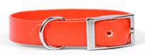 Solid Orange Elements Dog Collar