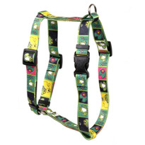 Frogs Roman Style Dog Harness