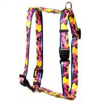 Palm Tree Island Roman Style Dog Harness