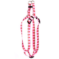 Sweet Strawberries Step-In Dog Harness
